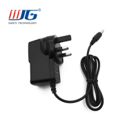 24W Power charger with UK/AU/EU/US plug, AC/DC 24V 1A Switching Adapter, Power Adapter for LED lighting, 12V 1A CCTV Power Adapter