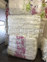 Sanitary napkins / in bales