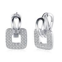 Wholesale new fashion K gold zircon romantic earrings