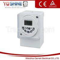 YX190 Daily and weekly programmable electronic time switches