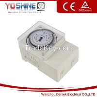 YX188 AC110-240V 24 Hour Mechanical Timer Switch Daily Timer