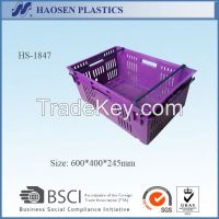 cheap stackable plastic crates for fruit
