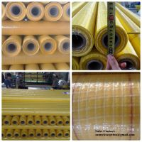 Yellow Leno 55gsm Micro-perforated Foils in Roll