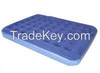 Flocked PVC Inflatable Cushion air bed/mattress