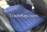 Flocked Inflatable bed in car