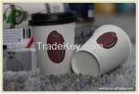 China wholesale high quality hot paper coffee cups with cheap price