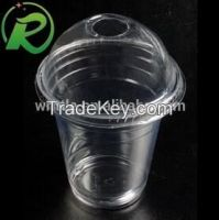 China supplier wholesale disposable plastic cups with lid