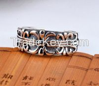 popular antique silver ring for men and women