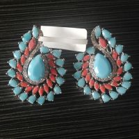 turquoise stone east Indian jewelry