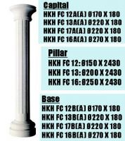 Sell Gypsum Moulding Gypsum Roman Pillar Capital Plaster Columns