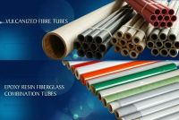 FISHPAPER TUBE Combination Tube for fuse cutout, Grey, Brown, Red, Epoxy Resin Fiberglass Tube