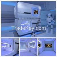 capsule hotel bed, sleep pod manufacturer for airport &hotel