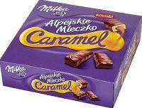 Milka marshmallow in chocolate