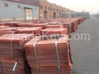 80% of LME price copper cathode 99.99%