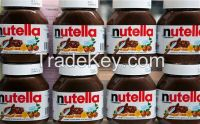 Mars, Bounty, Snickers, Kit Kat, Twix, Nutella Ferrero chocolate spread