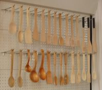 Sell Wooden/bamboo Spoon Sets, spatulas, ladles, scoops