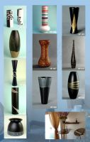 Sell Wooden Vase for interior furnishing or inner decoration