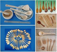 Sell Wooden spoons sets, ladles, scoopes, spatulas, bowls, tableware