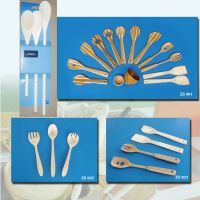 Sell spoons and forks, wooden cutlery, kitchenware, dinnerware