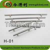 Furniture stainless steel T bar pull handle