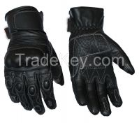 SHORT CUFF MOTORCYCLE LEATHER GLOVES