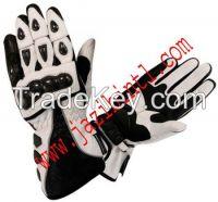 Motorbike Cowhide Leather Gloves