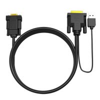 DVI 24+1 DVI-D + USB to VGA Male PC Monitor Active Adapter Converter Cable