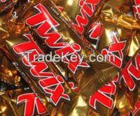 Chocolate Bars, Bueno Kinder Joy, Milky Way, Twix, Mars, Snickers, Galaxy