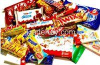 Ferrero Rocher Chocolate, Bueno Kinder Joy, Kinder Supprise, Nutella, Snicker , Mambo , Lipton