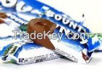 Bounty, Snickers, Kit Kat, Milky Way, Twix, Galaxy, Hazelnut, Chocolate Bars