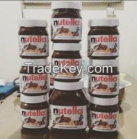 Nutella chocolate spread, Snickers, Kitkat, Bounty, Twix, Nutella Chocolate, Mars