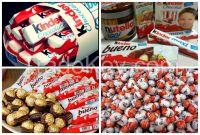 Kinder Joy Kinder Supprise Nutella Snicker, Nestle Milka, Lion Peanut, Mars, Nestle chocolate