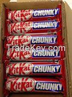 Maltesers, Snickers, Kitkat, Bounty, Kinder Joy, Kinder Surprise, Kinder Bueno, Twix, M&M's, Mar