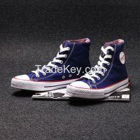 men casual shoes classic canvas shoe high-cut sneaker