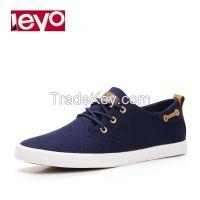 LEYO Men Casual Shoes Classic Canvas Shoes Lace-up man sneaker