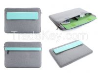 Good Quality Fashion Business 12 Inch Canvas Tablet Briefcases Bag For Mac Book 13inch