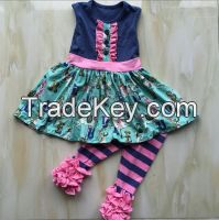 baby girl summer clothes ruffle pants outfit