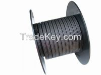 PTFE BRAIDED PACKING WITH GRAPHITE