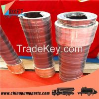 concrete pump delivery reducer tube