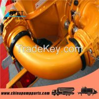 concrete pump delivery elbow