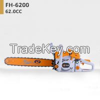 Portable saw 62.0CC Chain Saw chainsaw FH-6200 with CE