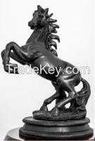 Tungsten Metal Horse Sculpture