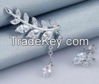 Themed leaves pendant earring OEM welcomed