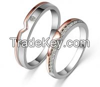 New couple ring for wedding