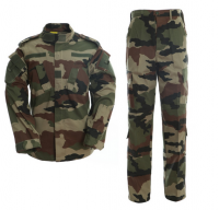 Waterproof military rip stop/twill uniform Woodland camo color