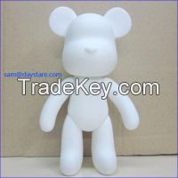 7 inch Blank White PVC DIY Painting Vinyl Toys/Make your own Personize