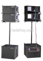 "Active 10"" line array system LA2"
