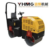 Hydraulic 1 Ton Double Drum Compactor Vibratory Machine Road Roller