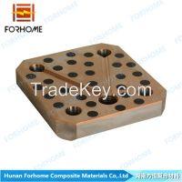 Sell  Bimetal Bronze Alloy Steel Self-lubricating Clad Sliding Plates