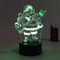 Christmas gift, Christmas promotional light, 3D LED light, Advertising lamp, 3D logo LED light, LED advertising light.